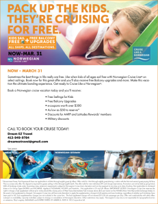 Kids Sail Free Book Dates- 3-1-3-31 Overview Flyer